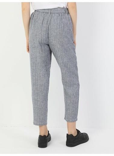 Colin's Regular Fit Orta Bel Düz Paça Kadın Pantolon İndigo